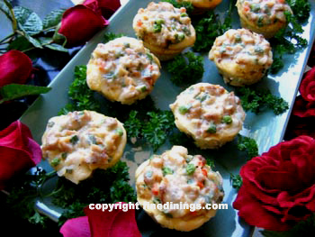 Chicken ala King Muffin Cups