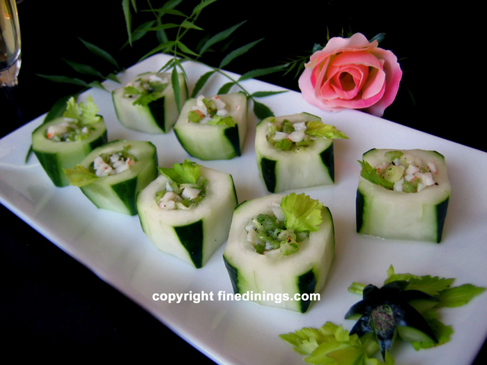 Gourmet Vegetable Appetizers