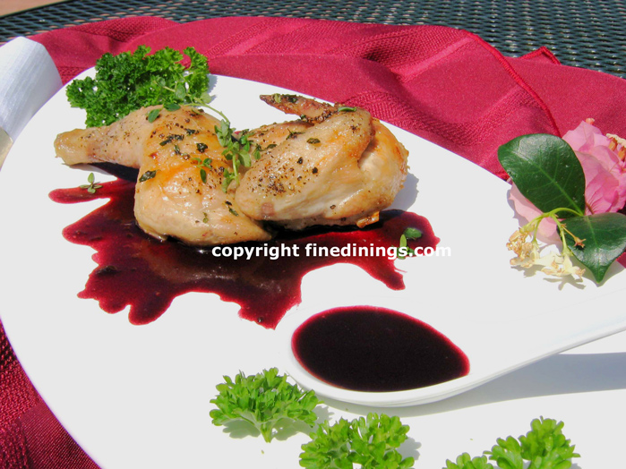 Delightful Gourmet Menu Ideas For Dinner Party Part - 2: Cornish Game Hen