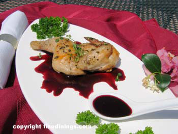 3 Course Menu, Gourmet Dinner Party Recipes, Cornish Game Hen Menus