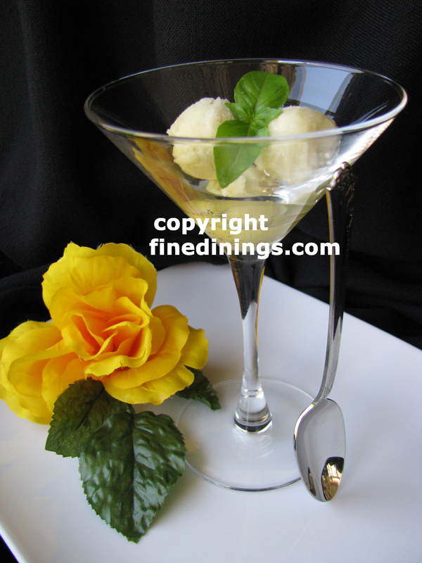 Sorbet, Ice Cream, Granita, Sorbet Recipes (photographs)