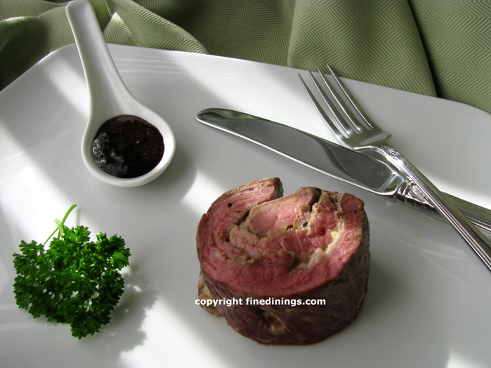 Leg of Lamb, 6 Course Menu