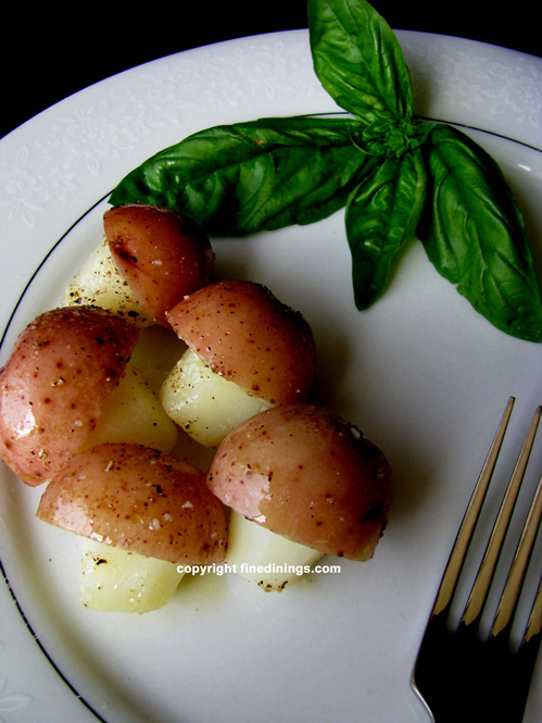 mushroom shaped potatoes