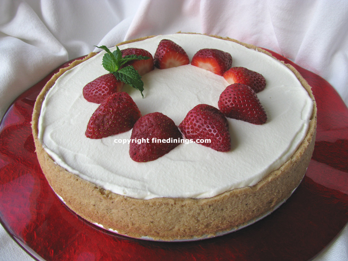 Strawberry Cream Torte
