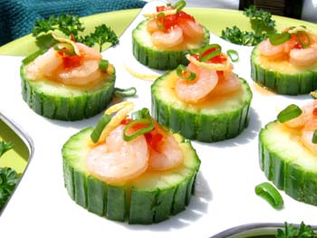 Thai Cucumber appetizer