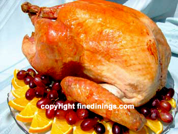 thanksgiving turkey with sage dressing