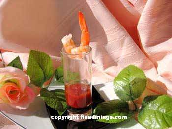 shrimp shot glass