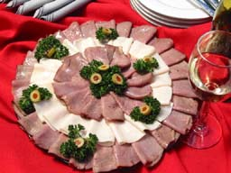 Party Tray - how to make Beef and Turkey Party Tray Appetizers