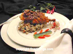 Menu Ideas - Dinner Party Menu: Cornish Game Hens six course