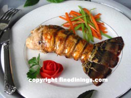 Lobster Tail, 8 Course Menu