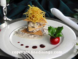 Puff Pastry Napoleon   Appetizer