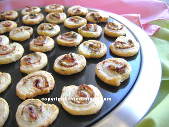 Crostini Appetizers, Canapes, Gourmet Appetizer Recipe Index (photographs)
