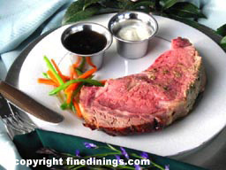 Prime Rib Dinner, How To Cook Prime Rib, Prime Rib of Beef Au Jus Recipe