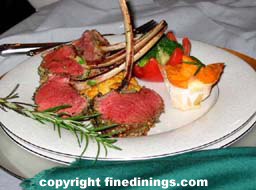 Rack of Lamb 6 Course Dinner